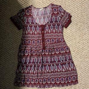 Garage boho dress